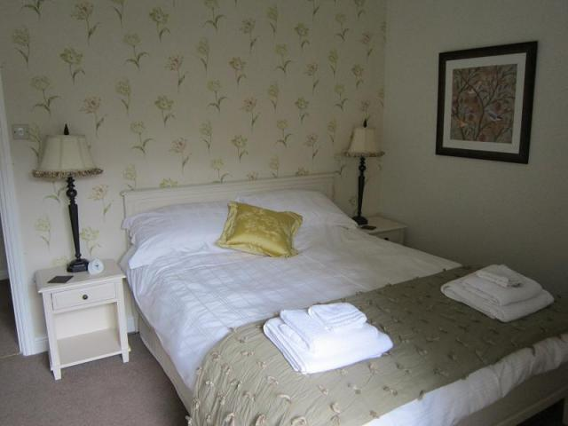 holiday cottage bedroom Hawes, North Yorkshire