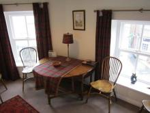 holiday cottage dining room Hawes, North Yorkshire